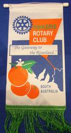 Club of Waikerie Banner